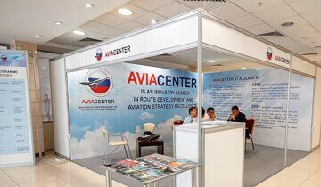 Aviacenter exhibition stand. Стенд ЦСР ГА